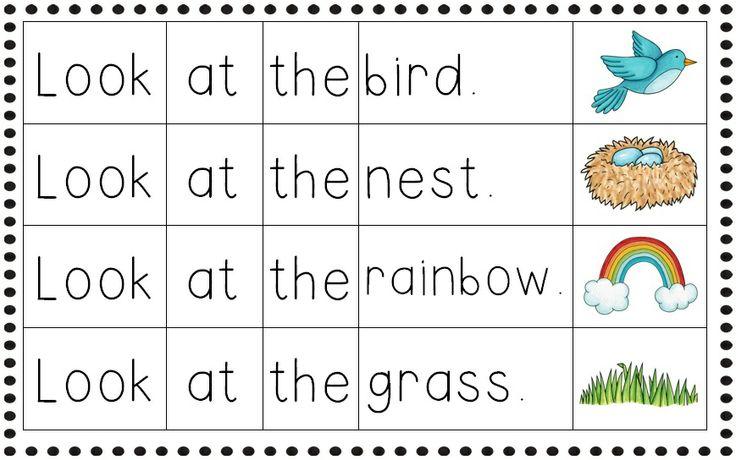 Simple Sentences For Kindergarten Scalien – Simple Sentences Worksheets for Kindergarten