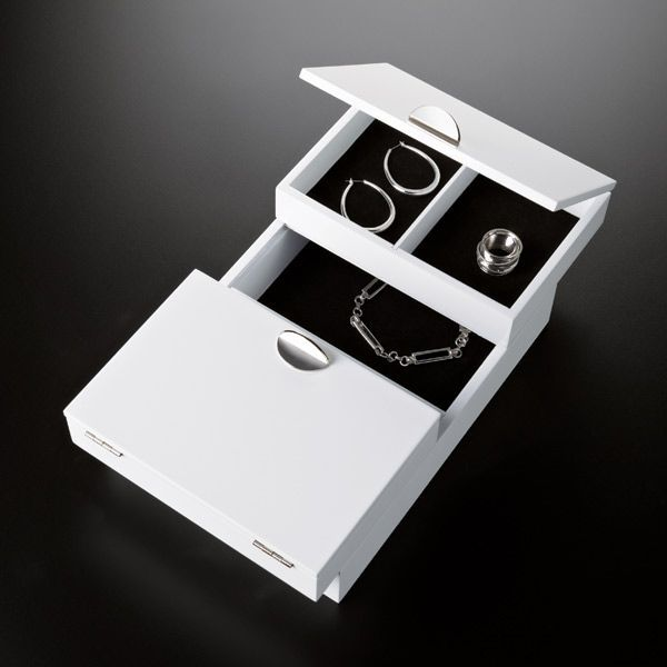 Our elegant repose storage box from umbra is an efficient for Terrace jewelry organizer by umbra