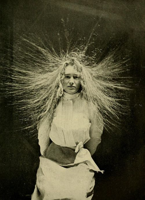 The law of electrical attraction and repulsion, from Samuel H. Monell's Electricity in health and disease, 1907