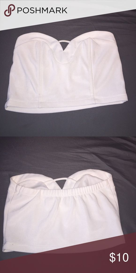 Tube top White tube top Tops Crop Tops