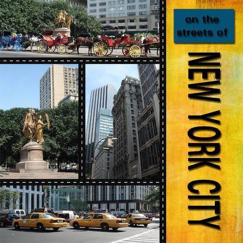 New York City scrapbooking