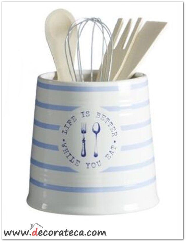 Mejores 161 im genes de cocinas decorateca en pinterest for Utensilios de cocina de ceramica