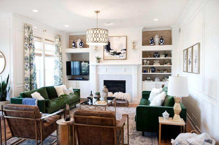 Green Velvet Sofa Living Room Ideas: Best 25+ Green Sofa Ideas On Pinterest