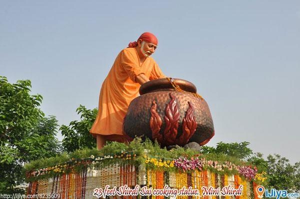 Shridi Sai Temple (Mini Shridi), Nizamabad   @ http://ijiya.com/8235609