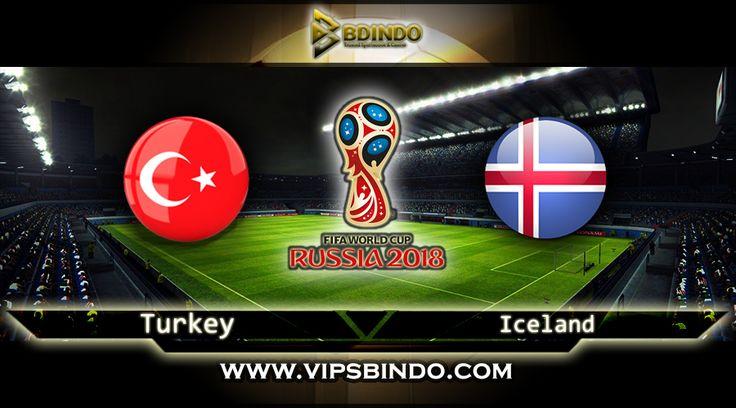 Vipsbindo Agen Bola Online pada artikel ini kembali memberi panduan serta perkiraan untuk Football Lovers untuk kompetisi Zona World Cup Qualifiers kesempatan ini pada Turkey vs Iceland7 Oktober 2017 kompetisi ini berjalan pada jam 01:45 WIB.