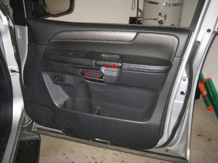 nissan armada interior door panel removal guide automotive pinterest interiors door