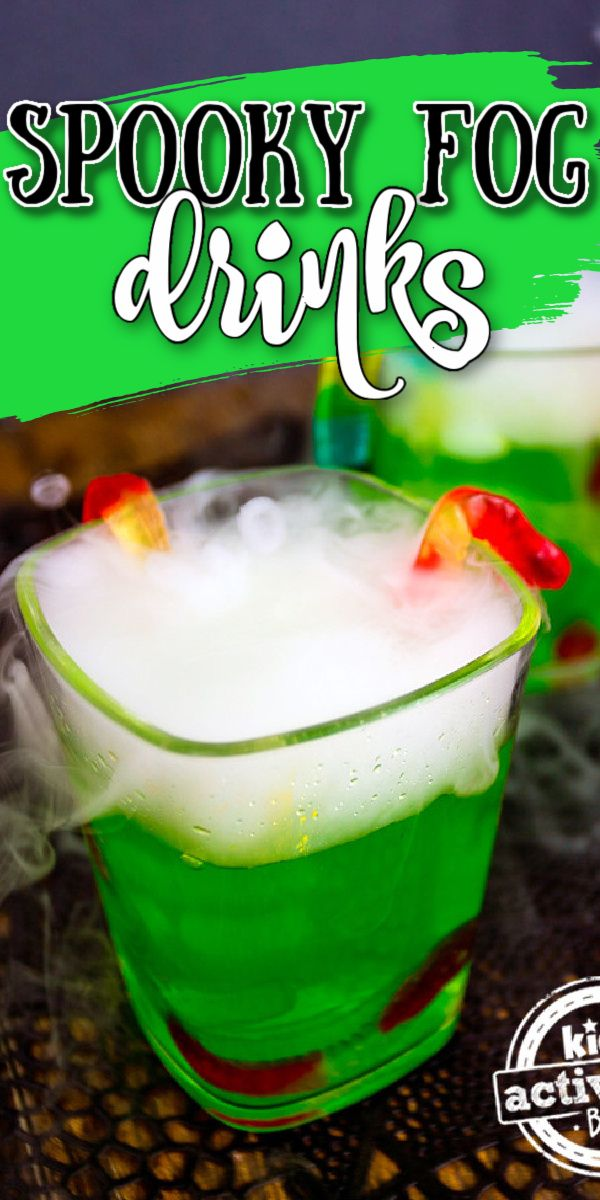 Halloween 2020 Stinger Halloween Party Drink Recipe | Foggy Witch's Brew! in 2020