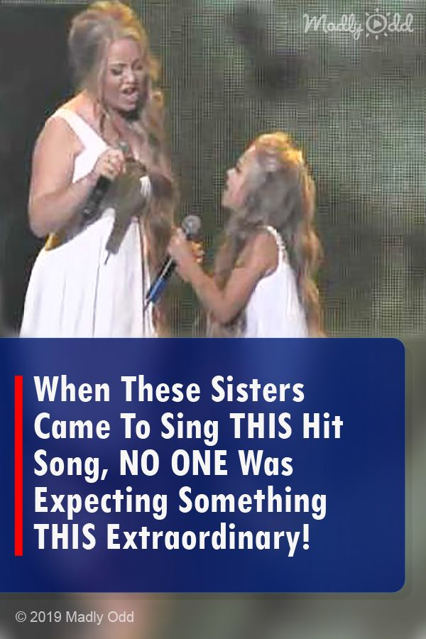 When These Sisters Came To Sing This Hit Song No One Was