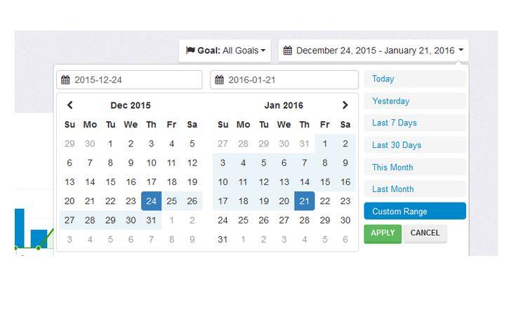 Date range picker solution