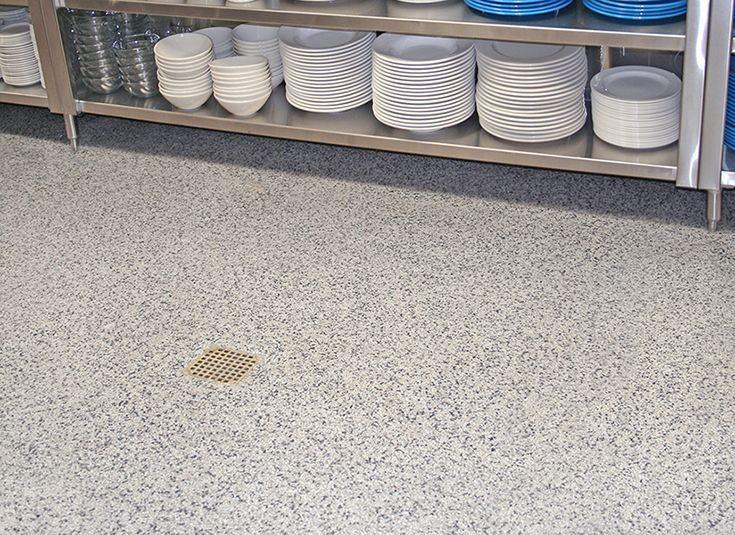 Salt Pepper Everlast Floor Restaurant Kitchen Flooring