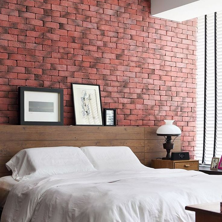 Best Red Brick Walls In The Bedroom Why Not They Add A 400 x 300