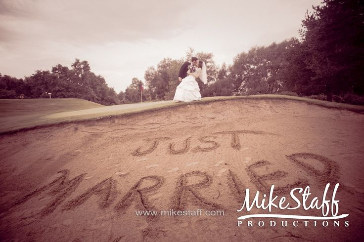 great idea for a golf course wedding