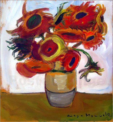 Diego Manuel Rodriguez - Silent sunflowers