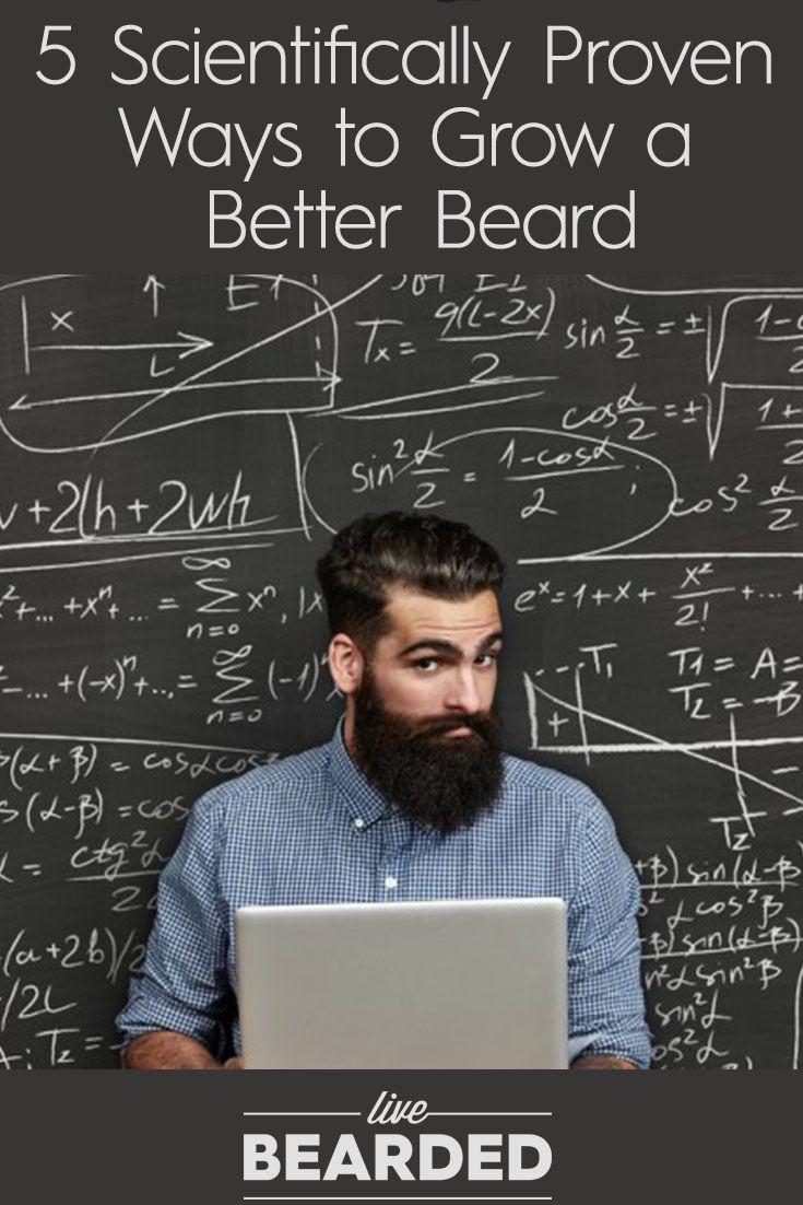 5 Scientifically Proven Ways to Grow a Better Beard | Bearded Men | Beard Growing Tips |