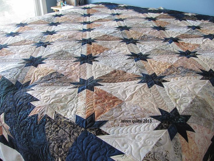 1000 Ideas About Hunters Star Quilt On Pinterest
