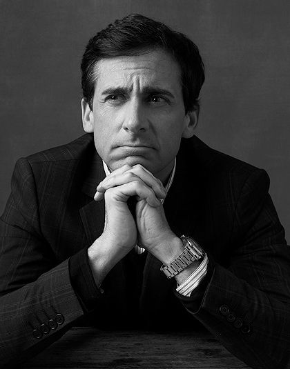 Steve Carell. A man who can make me laugh and cry all at once.