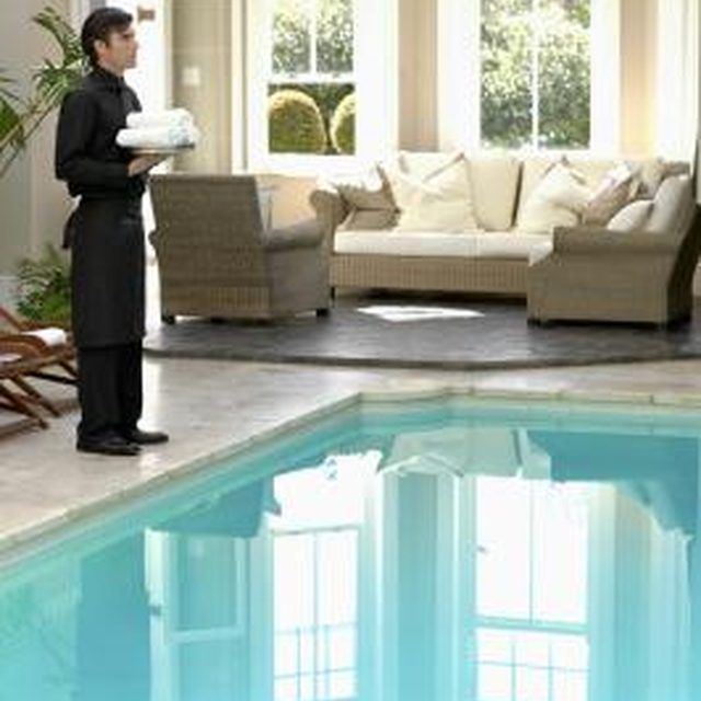 Saltwater pool maintenance is similar to caring for chlorine pools.