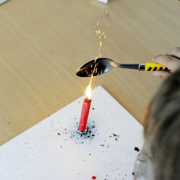 Das Leuchten der Kerzenflamme - SimplyScience