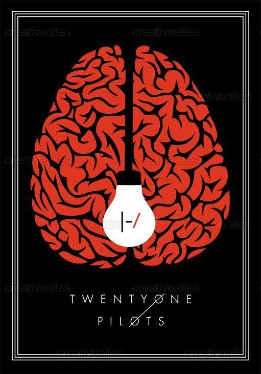 TWENTY ONE PILOTS Poster by Katherine Lorenz on CreativeAllies.com