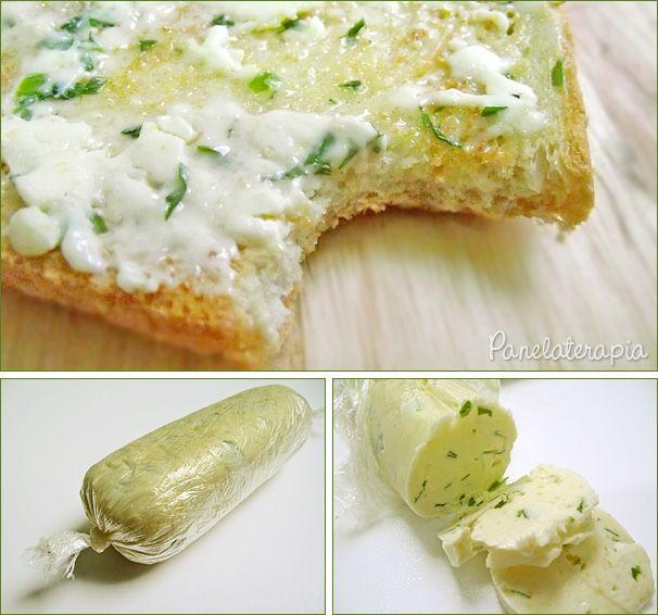 PANELATERAPIA - Blog de Culinária, Gastronomia e Receitas: Manteiga de Ervas