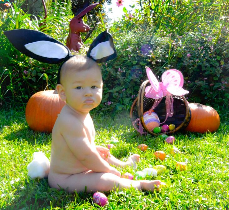 First easter 7mths old