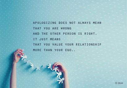 Quote with picture about You Value Your Relationship More Than Your Ego