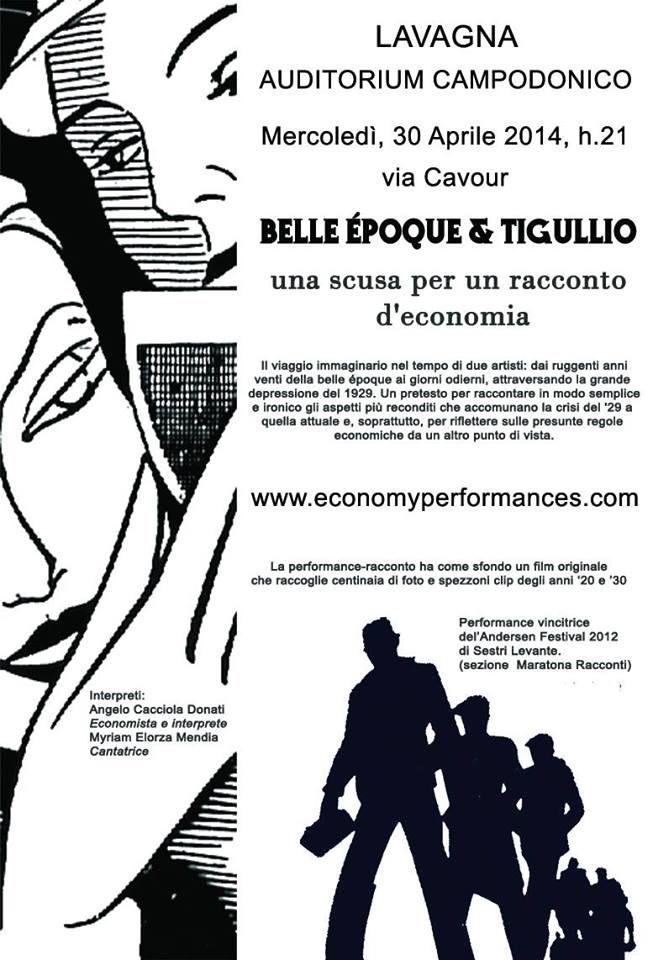 Belle époque & Tigullio  Auditorium Campodonico Lavagna