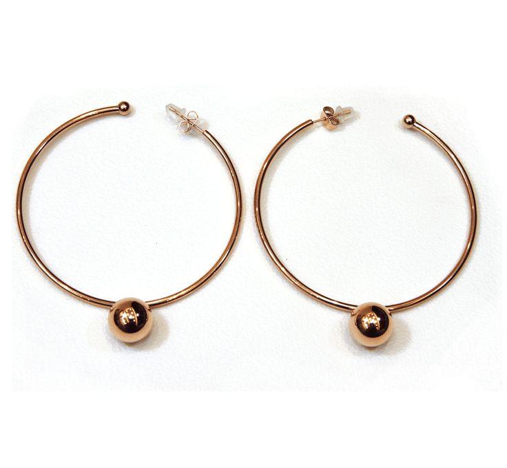 Circle Earings by JOOLS #earrings #greek4chic