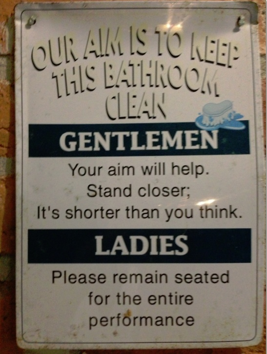 Funny Bathroom Rules Signs 34 best funny signs images on pinterest | funny signs, funny stuff