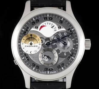 Chopard Limited Edition Regulateur Stainless Steel Grey Semi-Skeleton 168449-3001