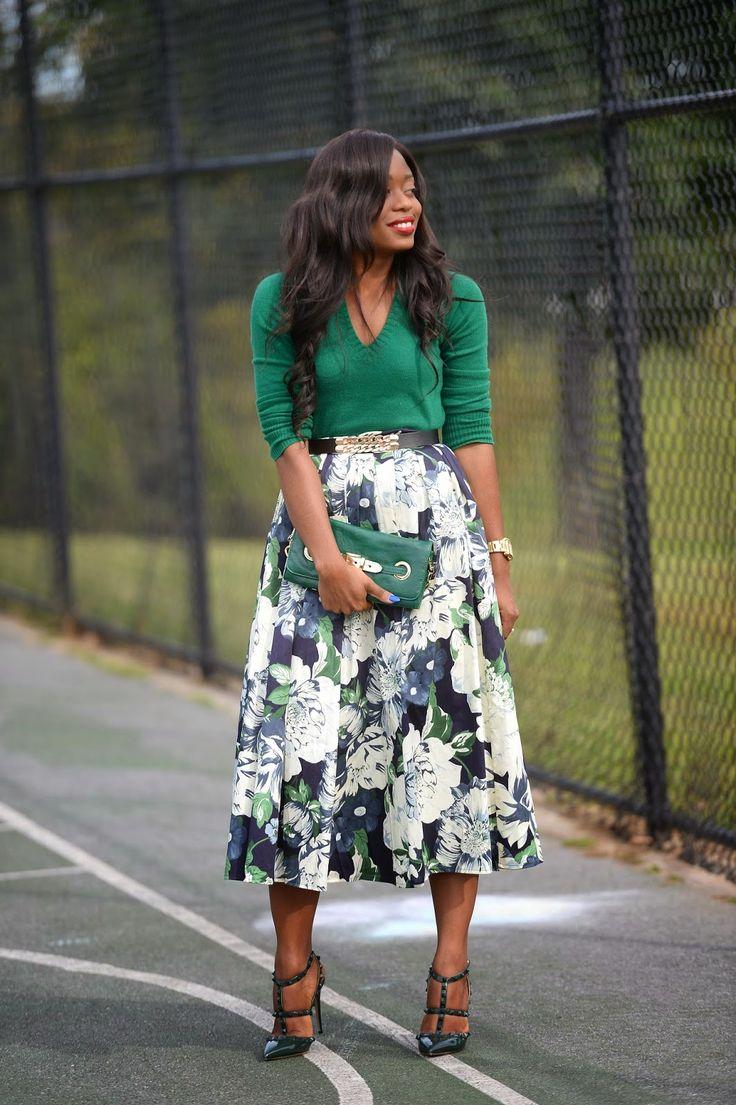ecstasymodels:  Floral Green  Jadore-Fashion