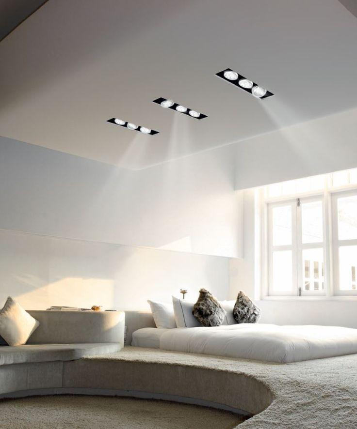 Lampada da incasso a luce diretta orientabile per controsoffitti XGQ1034-3 Collezione Purewhite™ by PANZERI