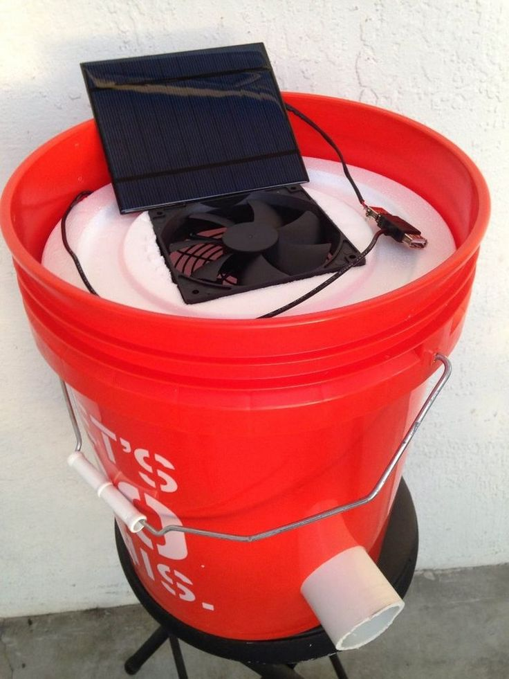 How to make a 5 gallon bucket air conditioner | DIY projects for everyone!
