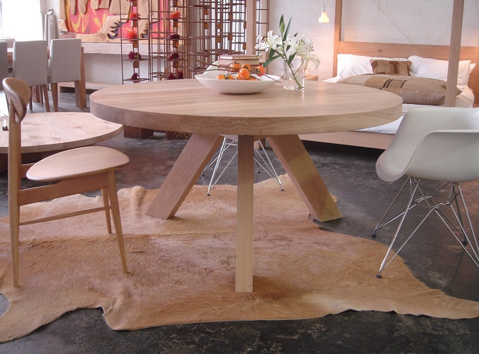 17 best Furniture images on Pinterest Circular dining table