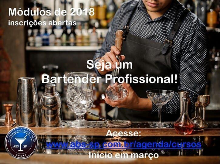 INSCRIÇÕES ABERTAS! Acesse: www.abs-sp/agenda/cursos #barlife #bartender #drinks #mixologia #mixology #professionalbartender #barstyle #bartending #coquetelaria #professionalbar #cocktails #cocktail #mixologist #happyhour #bartenderlife #cocktailtime #cocktailbar #drinking #melhoresbartenders #worldbestbartenders #instadrinks #worldsbestbars #talesofthecocktail #brazilbartenders #cocktailprofessor #cantinero