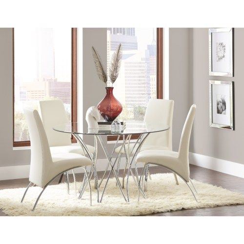 Best 25+ Contemporary Dining Sets Ideas On Pinterest | Gray Dining Chairs, Contemporary  Dining Room Sets And Contemporary Dinning Table