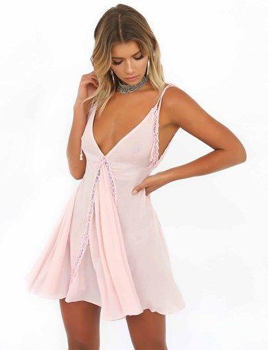 PINKIE SWING DRESS