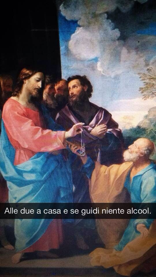 """Guido Reni . """" La Consegna delle Chiavi """""""