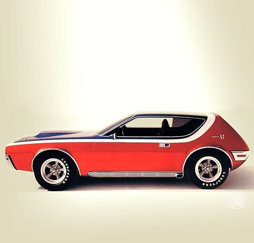 70s AMC Gremlin  I got my driver's licence test driving it.