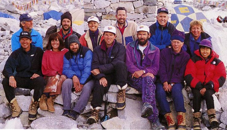 where is rob hall's body on mt. everest - Google Search