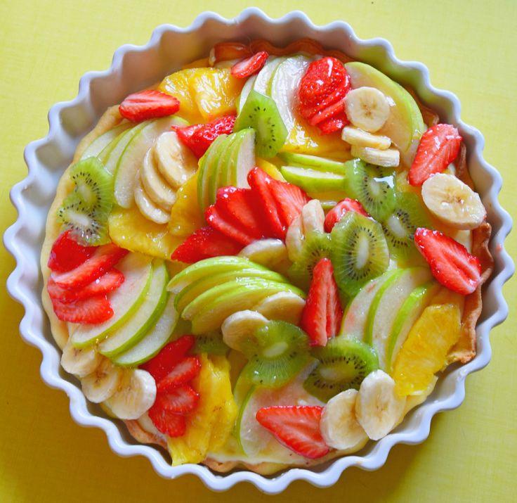Tarte tutti frutti Tarte aux fruits