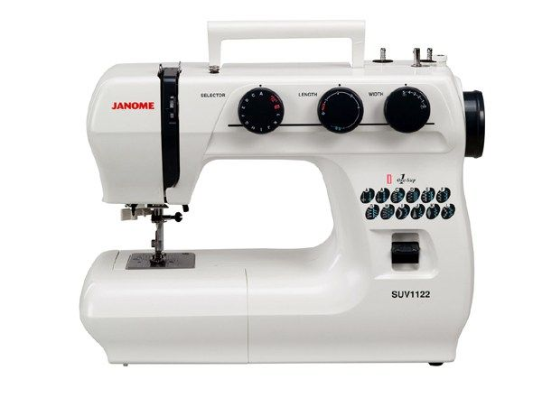Superior Utility Value Heavy duty fun and function is what you get with the SUV line of machines. They bring you Superior Utility Value for your sewing investment. Solid metal construction and uniq…