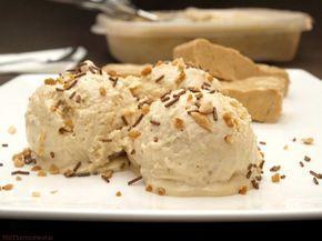 helado de turrón de Jijona. http://www.misthermorecetas.com/2014/07/03/helado-de-turron-de-jijona/#more-17330