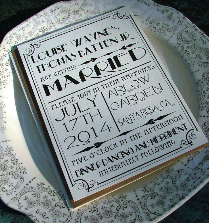 7afb4969b62cf95c983b021752fd5cb6 art deco wedding invitations wedding stationary best 25 deco invitation ideas ideas on pinterest,Art Deco Wedding Invitations Etsy