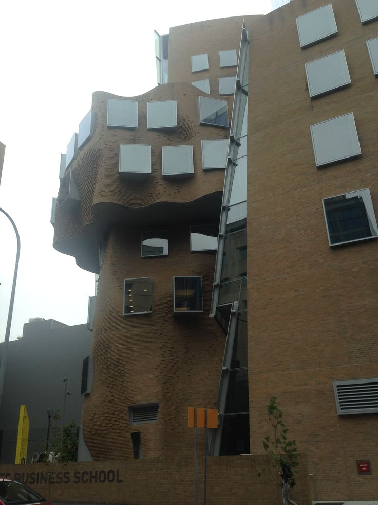 AUS Sydney Frank Gehry - Paper bag UTS