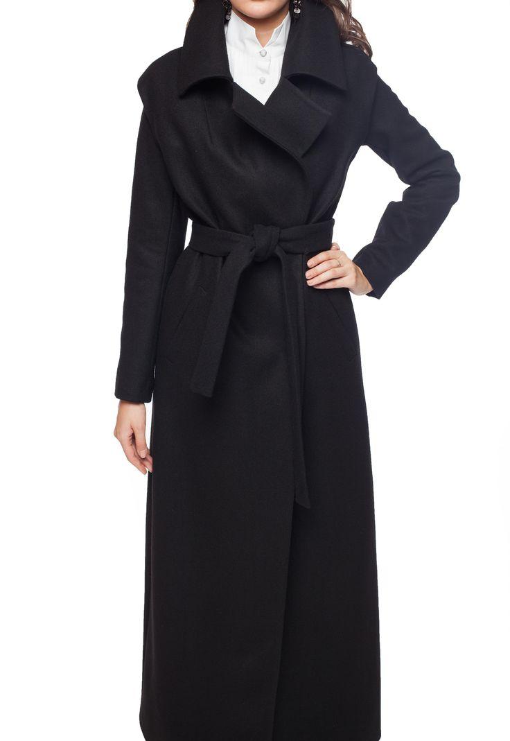 9002-140602 Пальто/черный #ксениякнязева #kseniaknyazeva #kknyazevaru