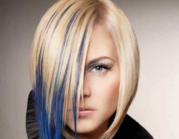 Best 25 blue hair streaks ideas on pinterest colored hair 14 beautiful blue hair streaks for women pmusecretfo Gallery