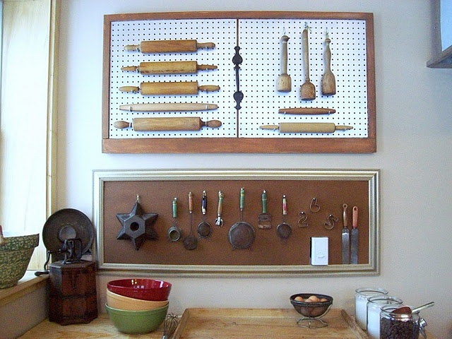 31 best kitchen pegboard ideas images on pinterest for Kitchen pegboard ideas