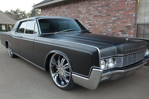 1967 lincoln continental custom factory suicide doors. Black Bedroom Furniture Sets. Home Design Ideas