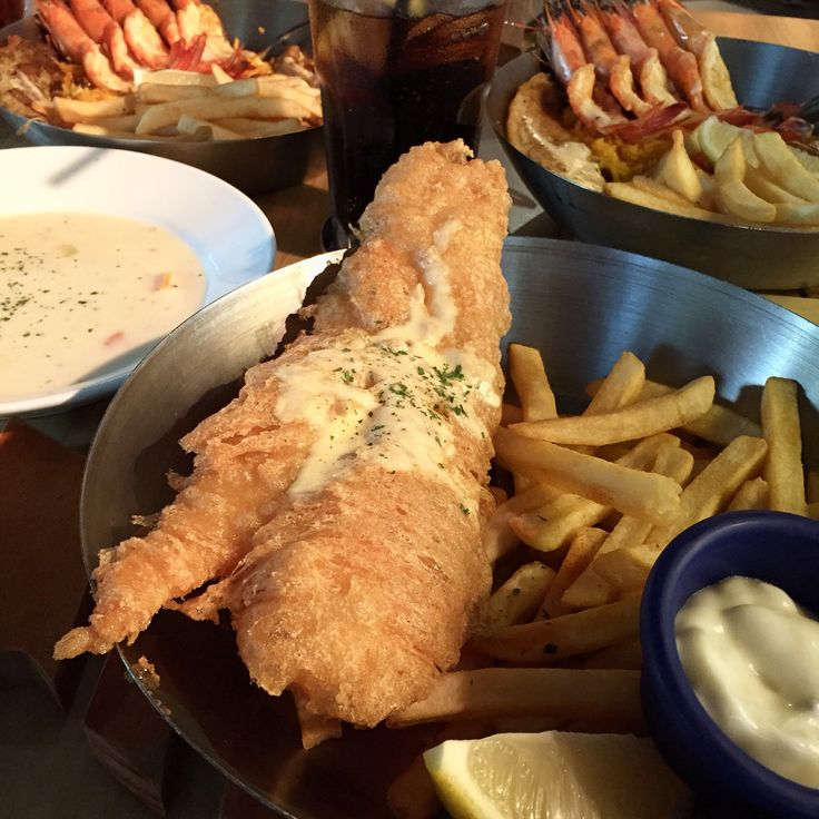 Fish and Chips @ Fish & Co.